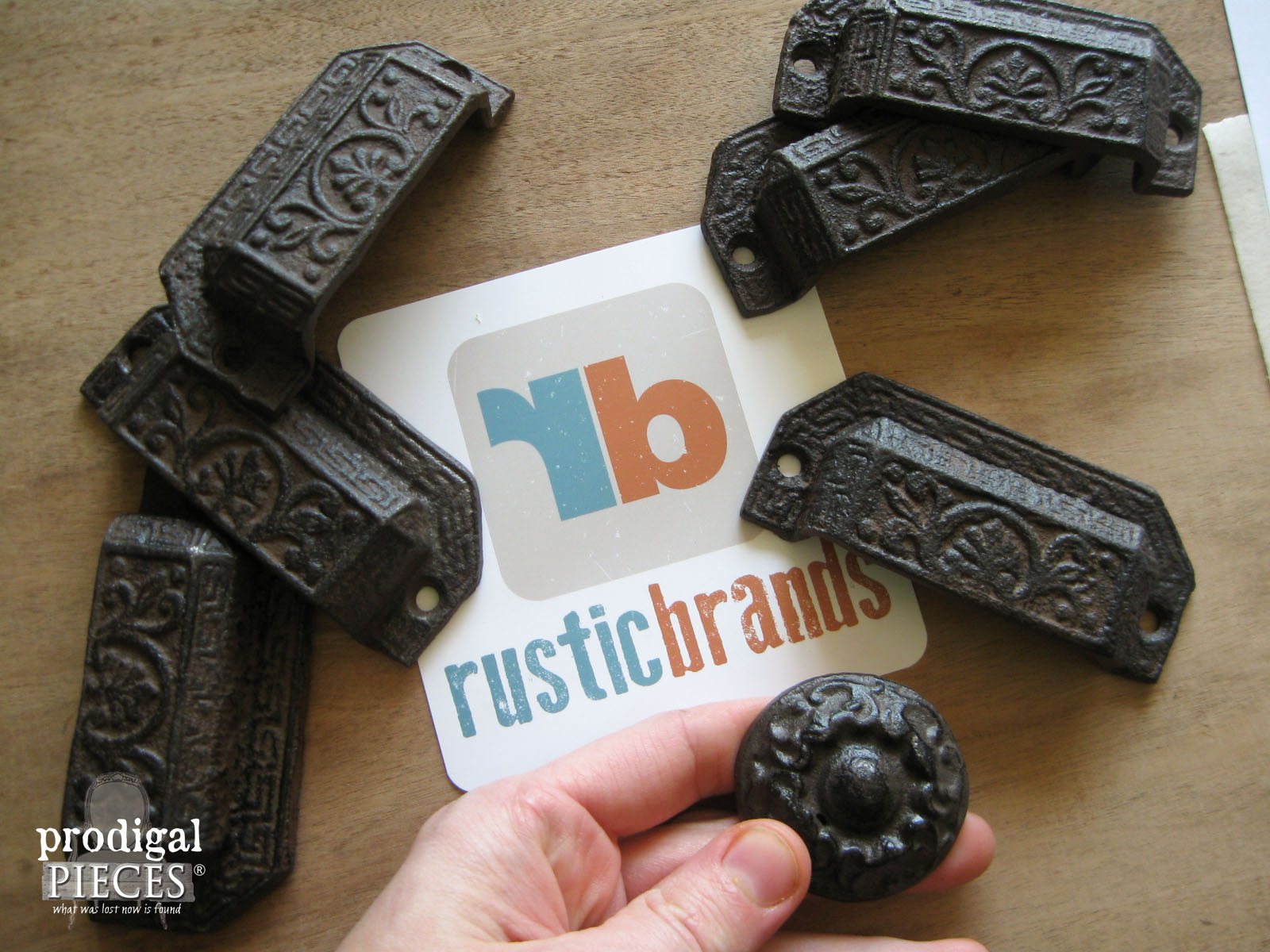 Rustic Brands Cast Iron Pulls | Prodigal Pieces | www.prodigalpieces.com