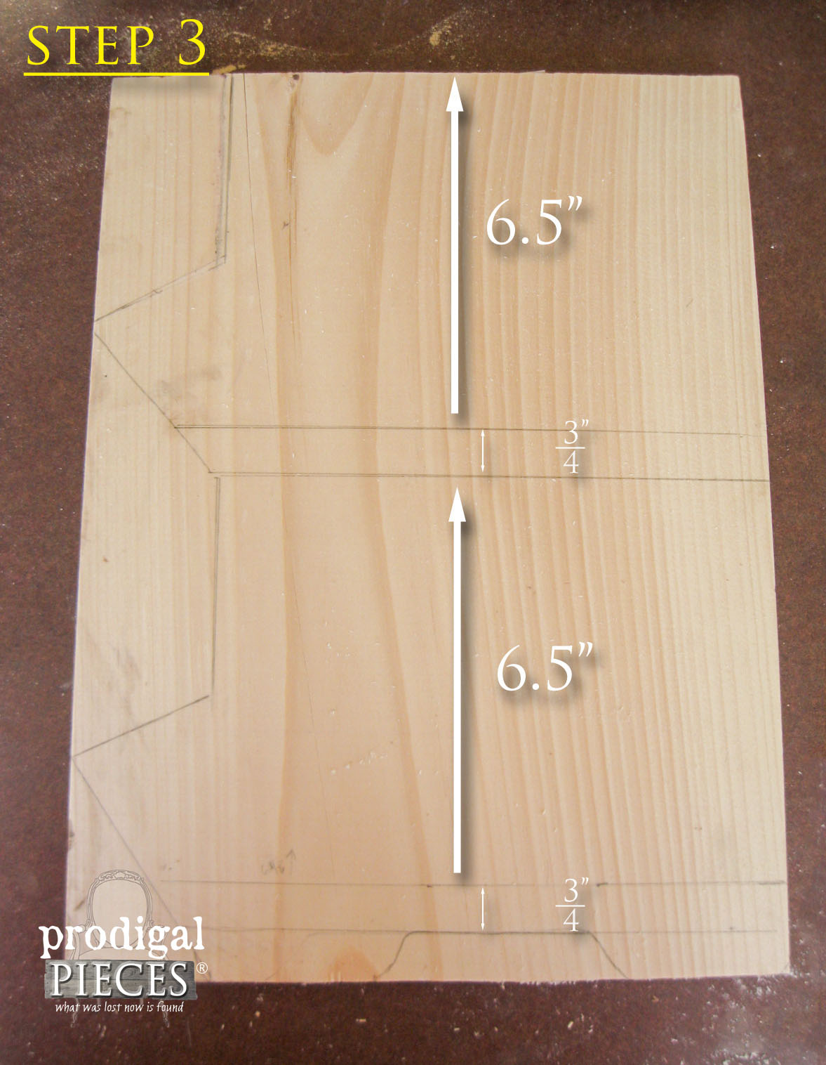 Step 3 of Building Wooden Bin by Prodigal Pieces | www.prodigalpieces.com
