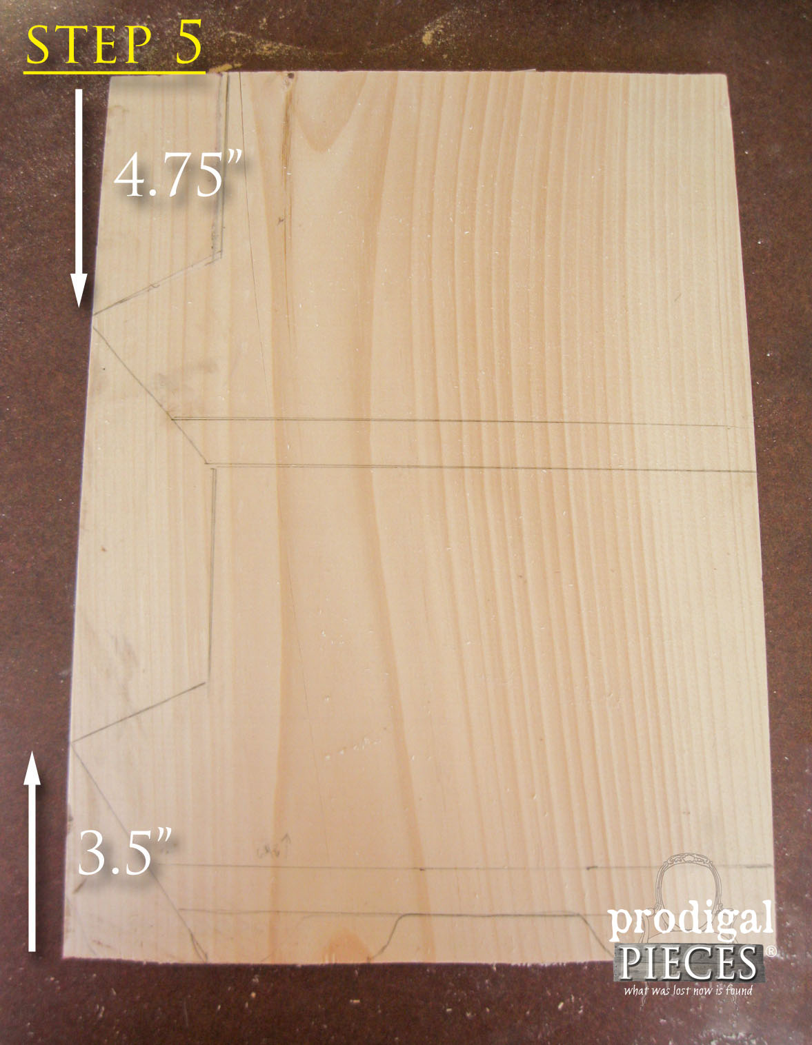 Step 5 of Building Wooden Bin by Prodigal Pieces | www.prodigalpieces.com