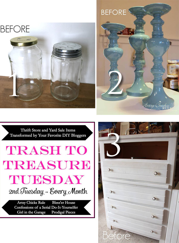Trash to Treasure March 2016 | prodigalpieces.com