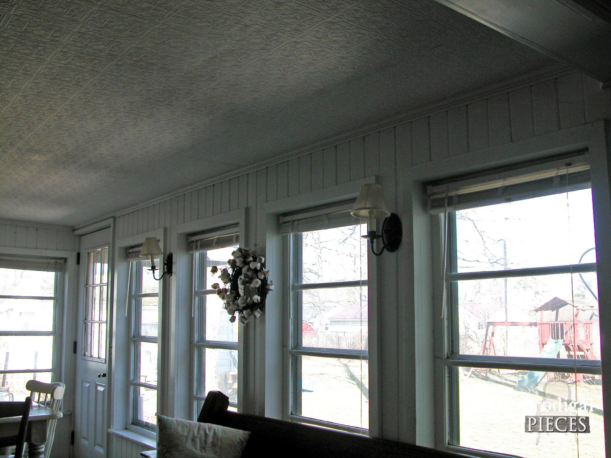 Dining Area Windows Before | Prodigal Pieces | www.prodigalpieces.com