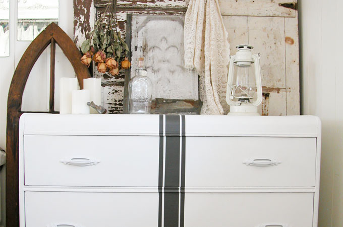Featured Grain Sack Chest of Drawers | Prodigal Pieces | www.prodigalpieces.com