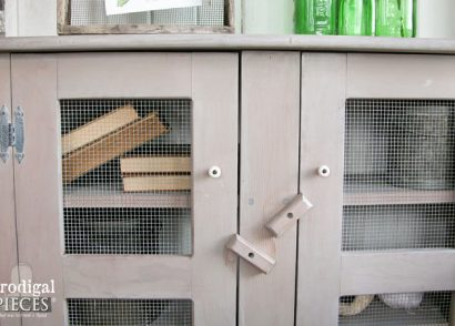 Featured Primitive Cupboard Makeover with Stain by Prodigal Pieces | www.prodigalpieces.com