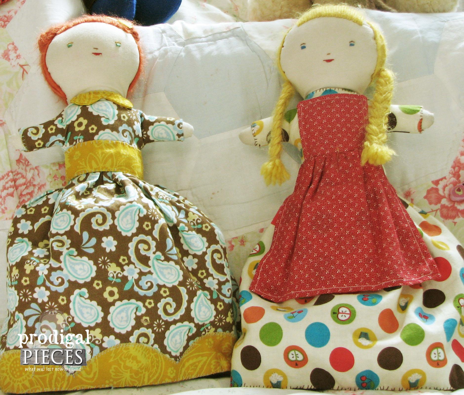 Reverse Handmade Topsy Turvy Dolls by Prodigal Pieces | www.prodigalpieces.com