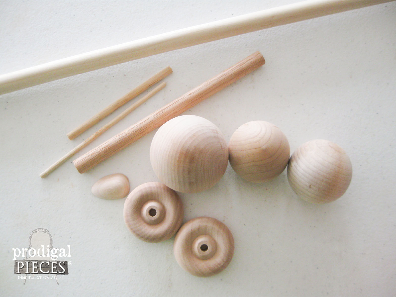 Wooden Toy Duck Parts | Prodigal Pieces | www.prodigalpieces.com