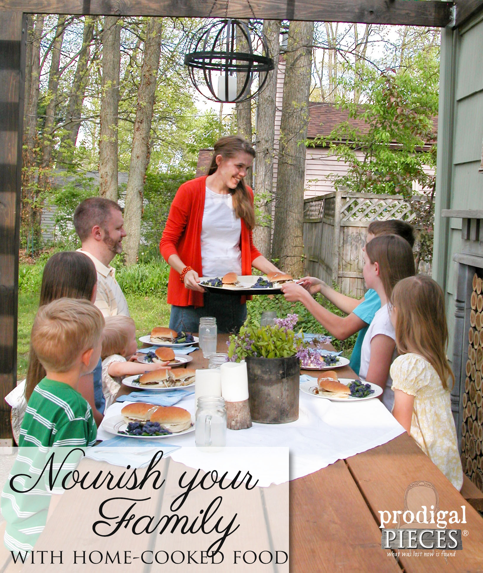 How to Nourish Your Family with Home-Cooked Food by Prodigal Pieces | prodigalpieces.com