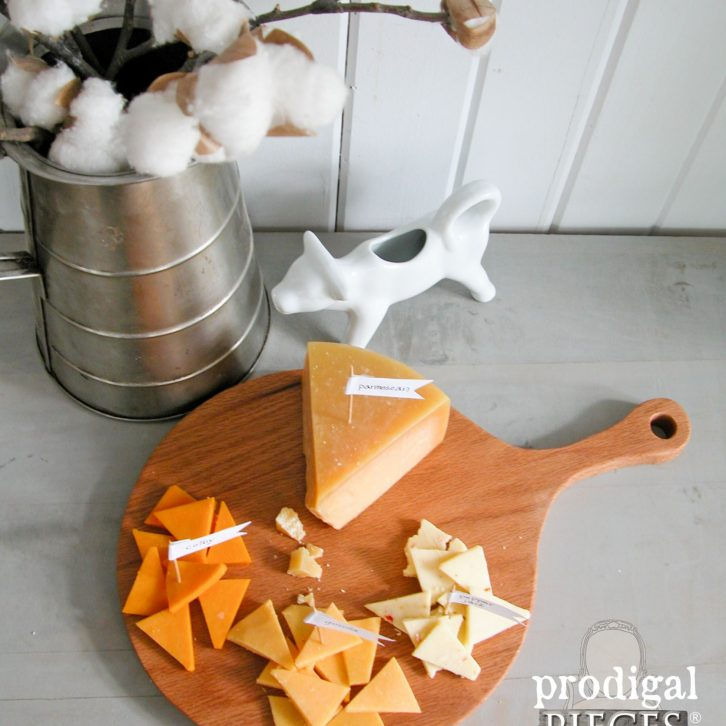 Make Your Own Farmhouse Cheese Board by Prodigal Pieces | www.prodigalpieces.com