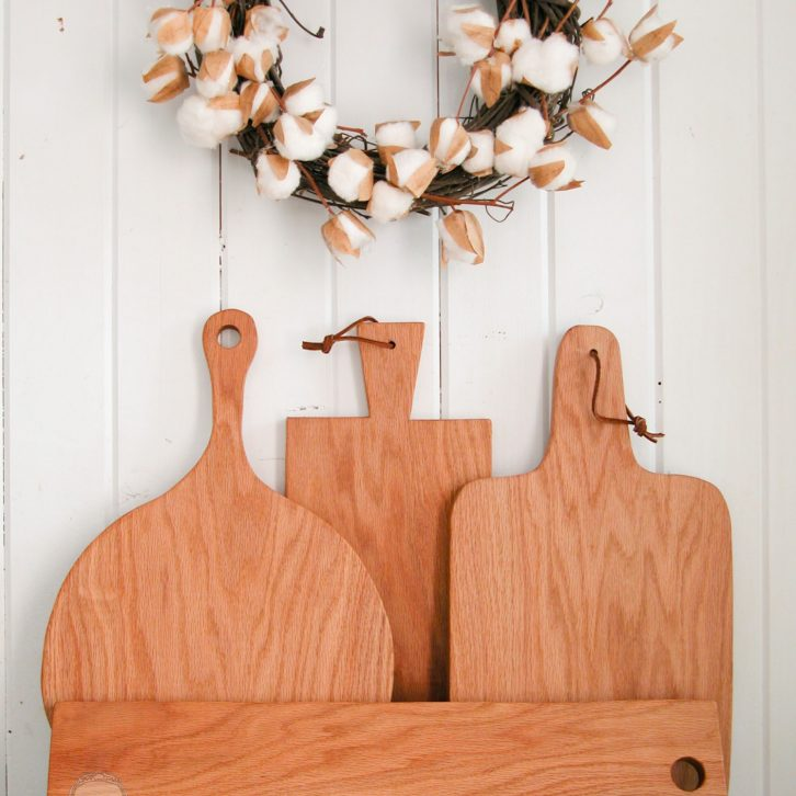 Farmhouse Cutting Board by Prodigal Pieces | www.prodigalpieces.com