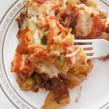 Featured Cabbage Pizza or Lasagna by Prodigal Pieces | www.prodigalpieces.com