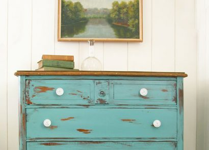 Featured Distressed Teal Chest by Prodigal Pieces | www.prodigalpieces.com