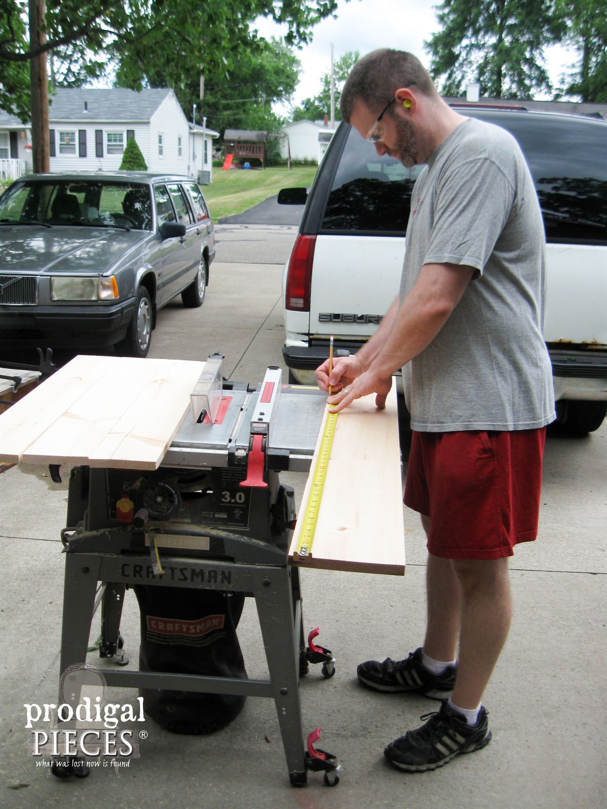 Ripping Pine Planks for Cedar Chest Repair | Prodigal Pieces | www.prodigalpieces.com