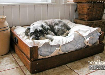 Featured DIY Pet Bed by Prodigal Pieces | www.prodigalpieces.com