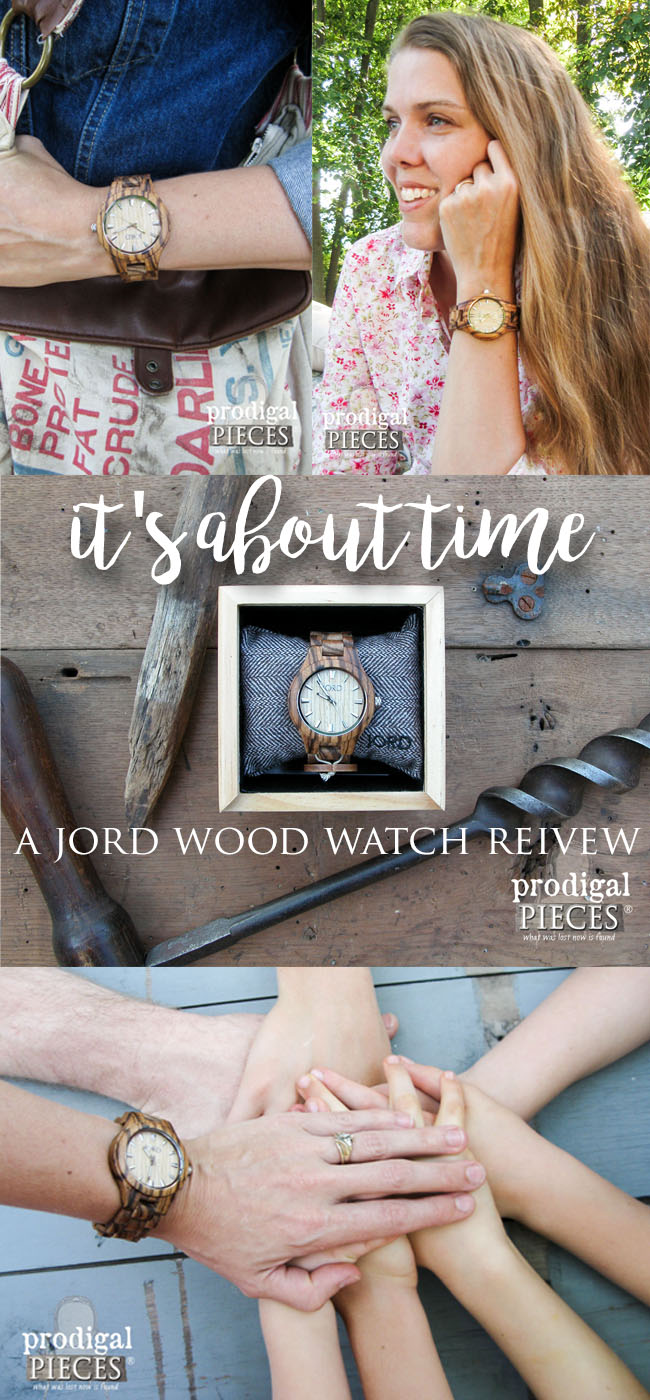 A Look at Our Time: JORD Wood Watch Review by Prodigal Pieces | www.prodigalpieces.com