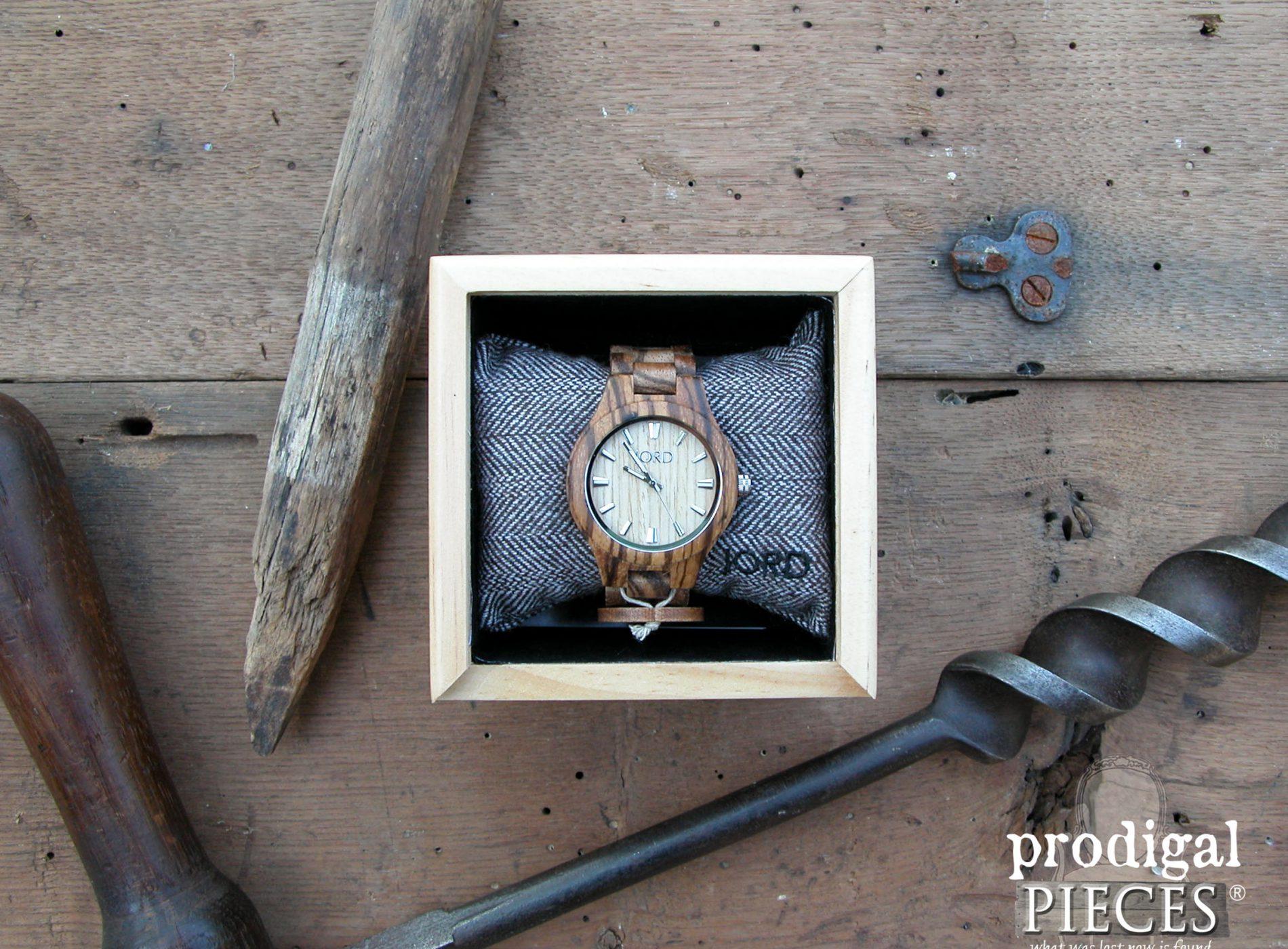 JORD Wood Watch Fieldcrest Zebra Wood & Maple Review by Prodigal Pieces | www.prodigalpieces.com