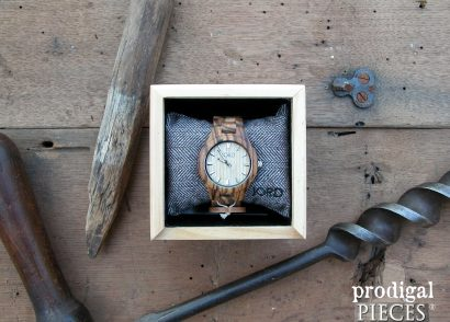 JORD Wood Watch Fieldcrest Zebra Wood & Maple Review by Prodigal Pieces | www.prodigalpieces.com