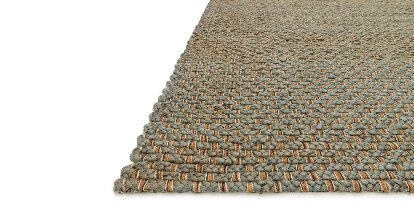 Blue Jute Area Rug by Rugs Expedition via Prodigal Pieces | www.prodigalpieces.com