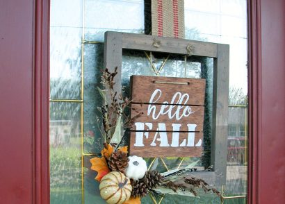 Featured Hello Fall Sign Tutorial by Prodigal Pieces | www.prodigalpieces.com