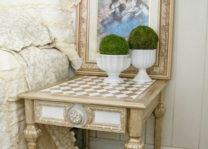 Featured Metallic Paint Makeover by Prodigal Pieces | www.prodigalpieces.com