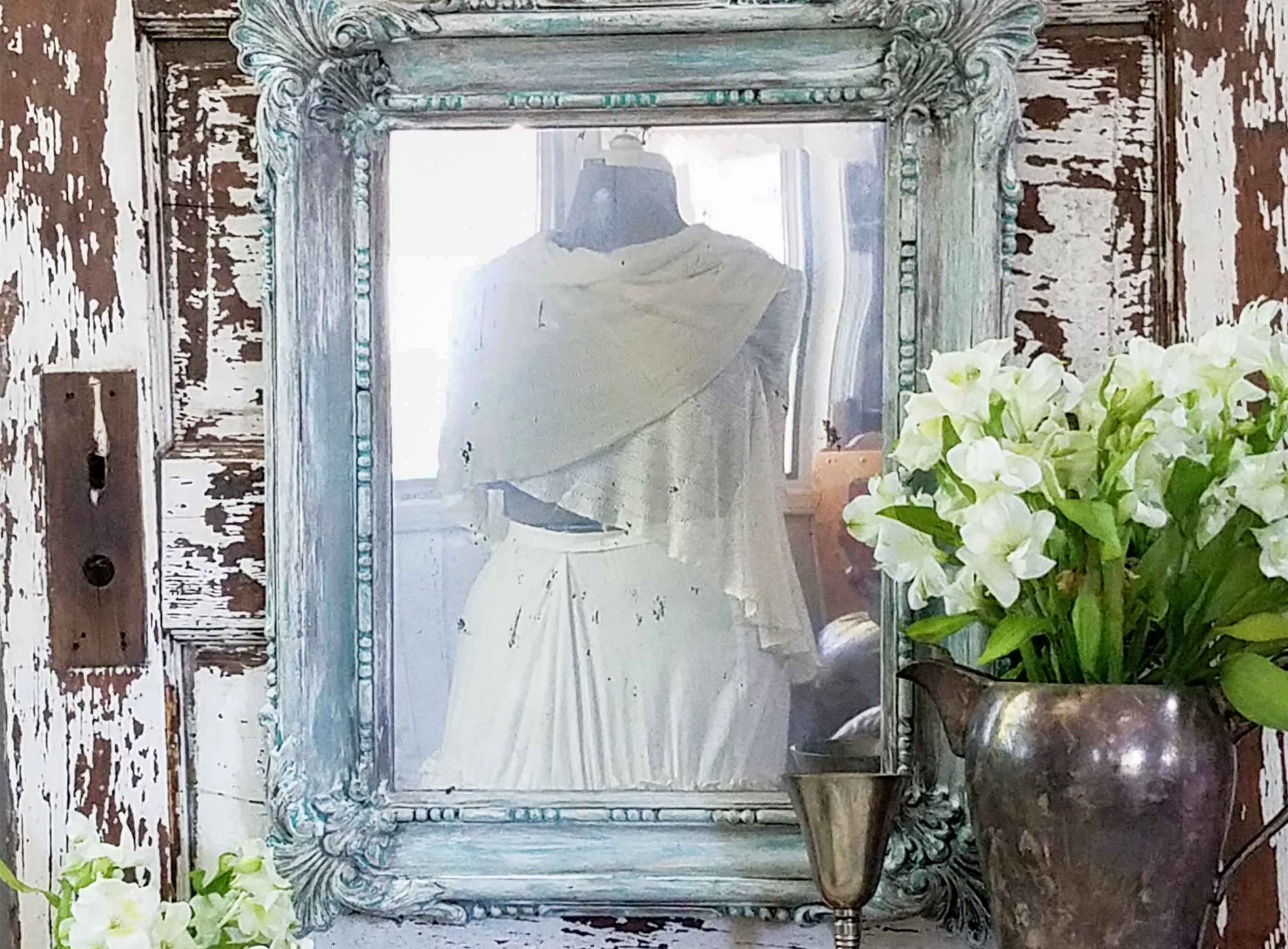 Featured Faux Aged Mirror by Prodigal Pieces | www.prodigalpieces.com