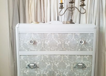 Featured Decoupage Furniture Tutorial by Prodigal Pieces | www.prodigalpieces.com