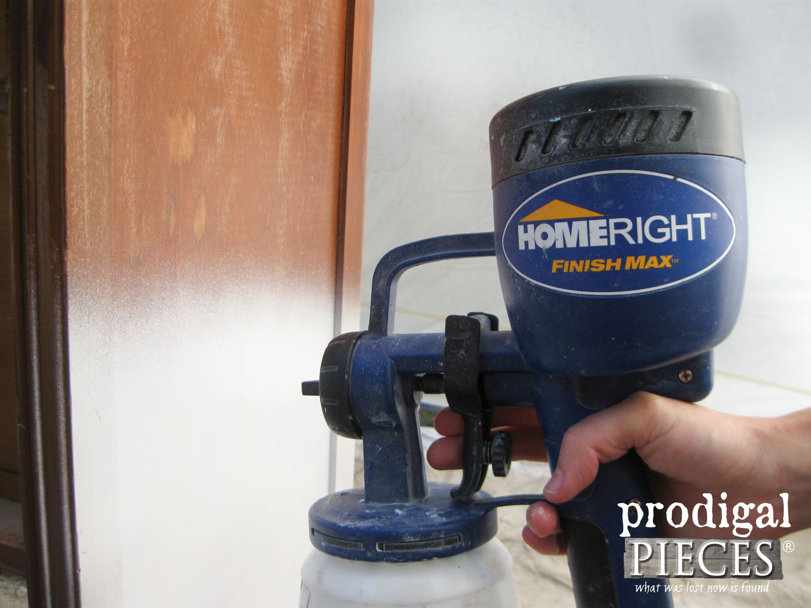 HomeRight Finish Max Paint Sprayer for Furniture Painting | Prodigal Pieces | www.prodigalpieces.com