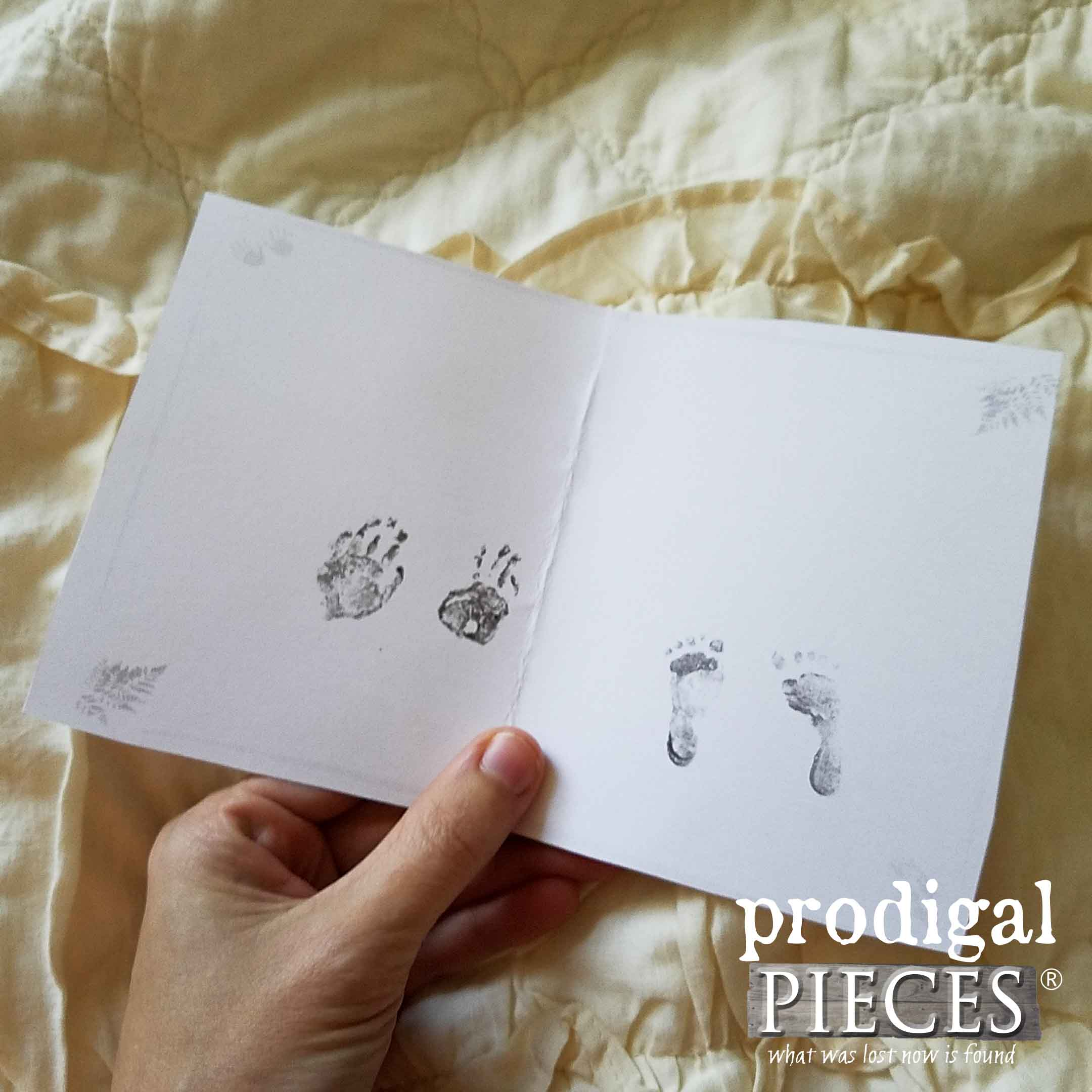 Premature Baby Girl Footprints ~ Healing after Subchorionic Hematoma | Prodigal Pieces | www.prodigalpieces.com