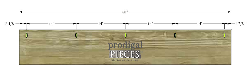 Kreg Joints for DIY Coat Rack by Prodigal Pieces   www.prodigalpieces.com