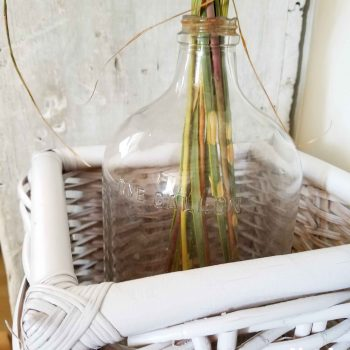 Repurposed Gallon Glass Jar to Hold Natural Grass Display | Prodigal Pieces | www.prodigalpieces.com