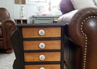 Featured Vintage Chic Sewing Table Makeover by Prodigal Pieces | prodigalpieces.com