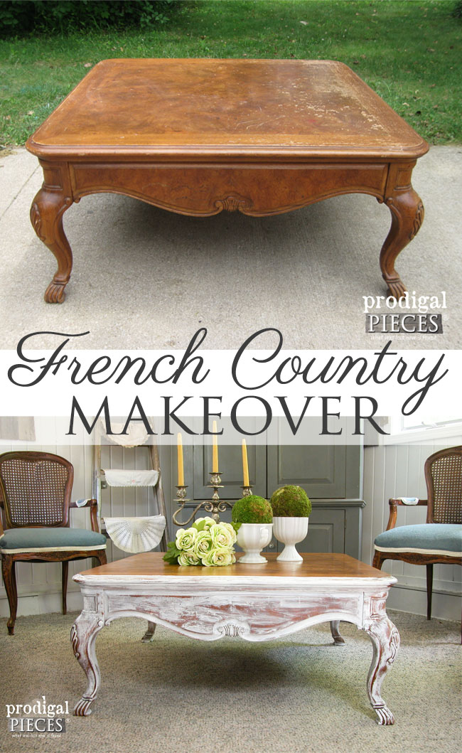 Remarkable Coffee Table Makeover With French Country Style Prodigal Camellatalisay Diy Chair Ideas Camellatalisaycom