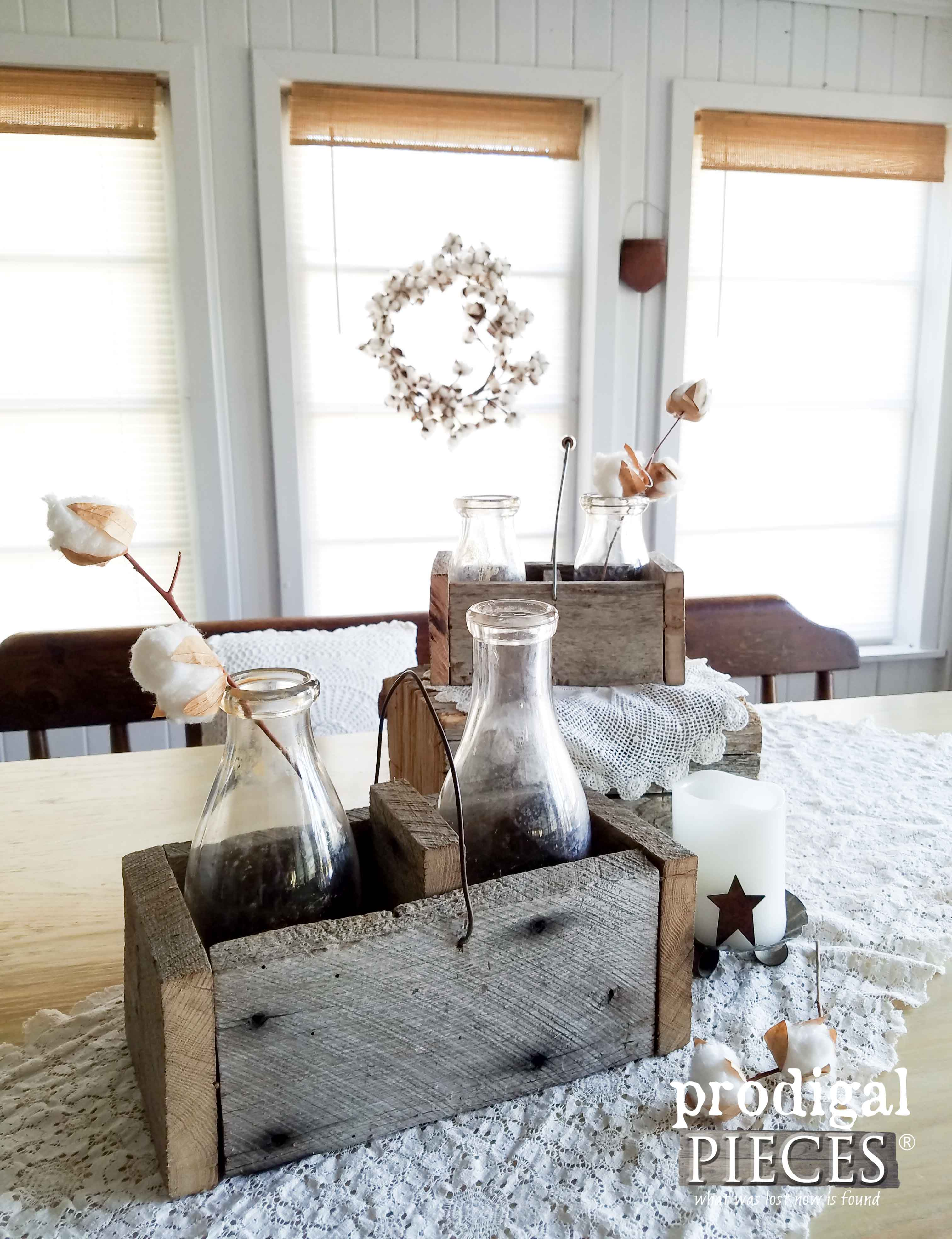 Wooden Caddy Tutorial ~ DIY Farmhouse Style - Prodigal Pieces