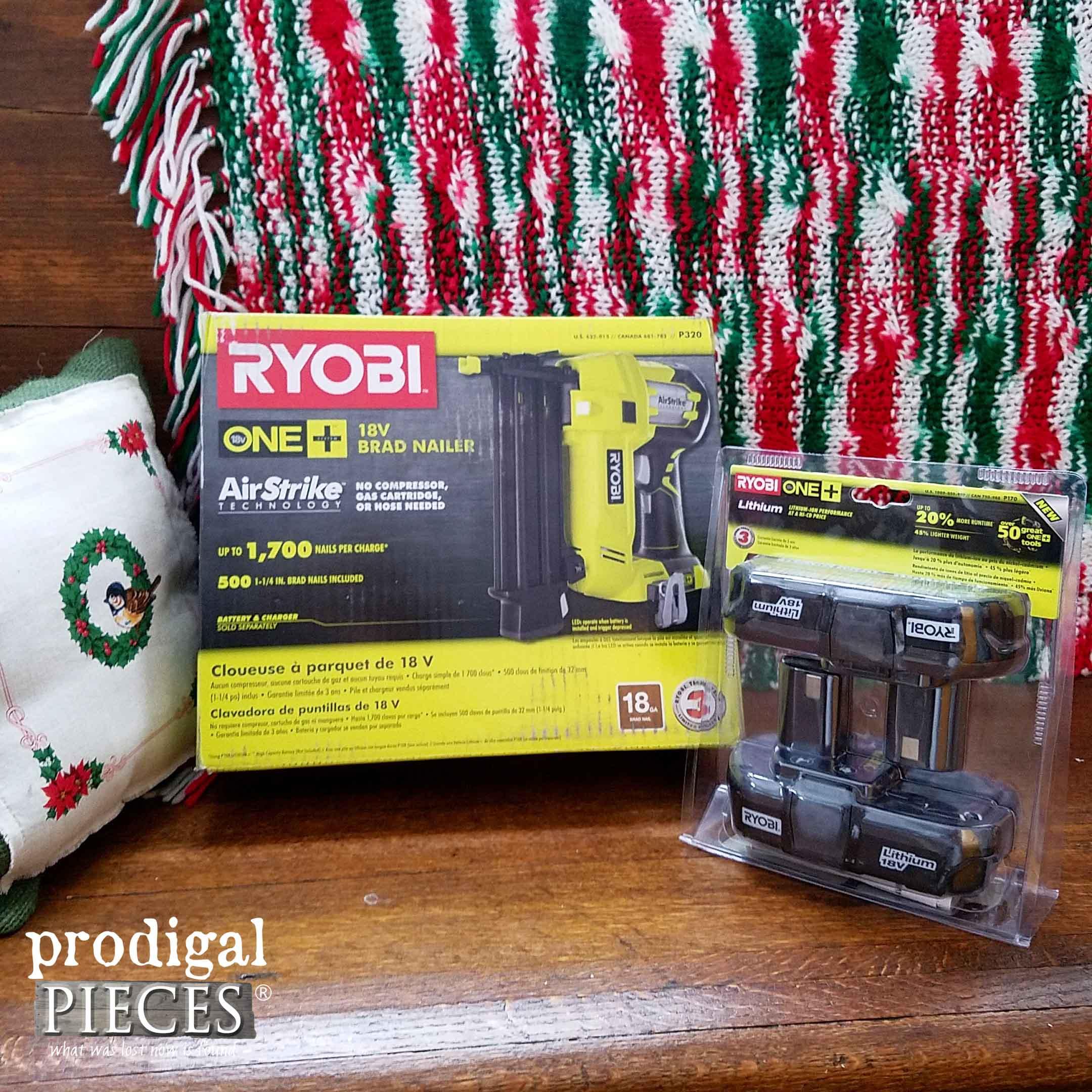 Ryobi AirStrike Nailer | Prodigal Pieces | prodigalpieces.com