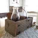 Reclaimed Wooden Caddy Tutorial for any use in your home | Prodigal Pieces | www.prodigalpieces.com