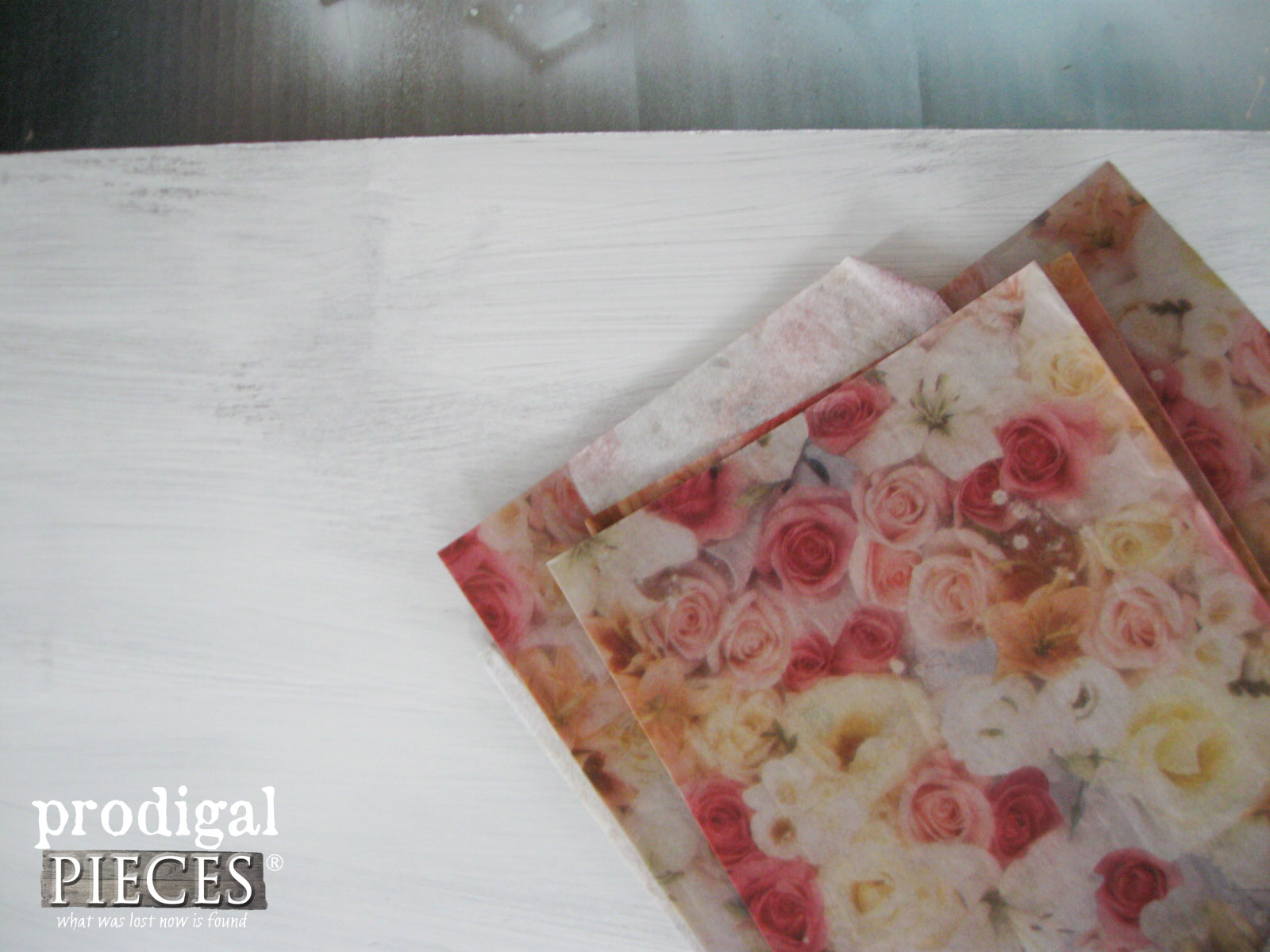 Decoupage Materials for Repurposed Wall Art by Prodigal Pieces | prodigalpieces.com