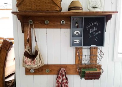 Featured DIY Entry Storage by Prodigal Pieces | prodigalpieces.com