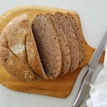 Featured No-Knead Wheat Bread | Prodigal Pieces | prodigalpieces.com