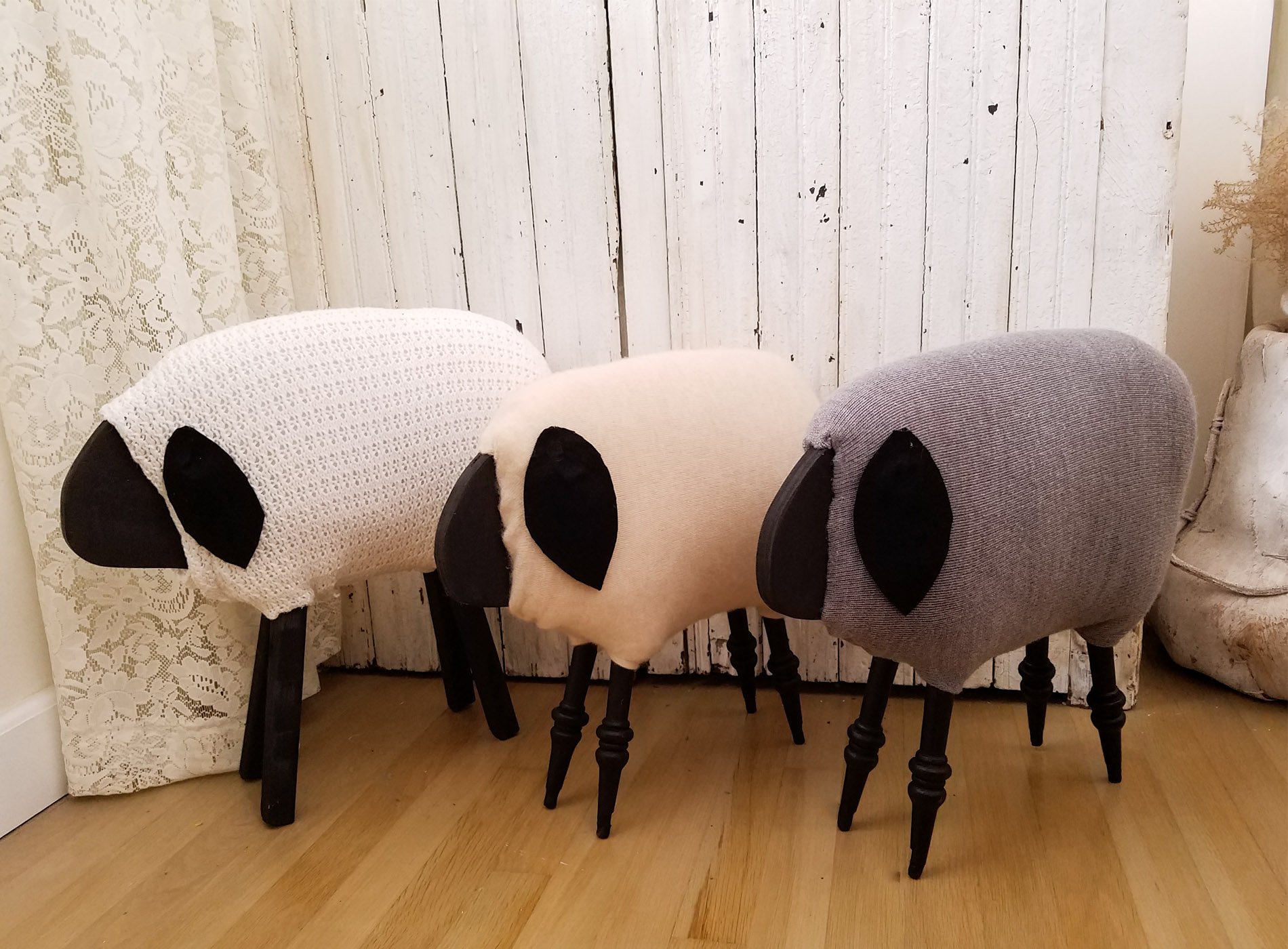 Featured DIY Woolly Sheep by Prodigal Pieces | prodigalpieces.com