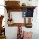 Rustic Farmhouse Storage | Prodigal Pieces | prodigalpieces.com