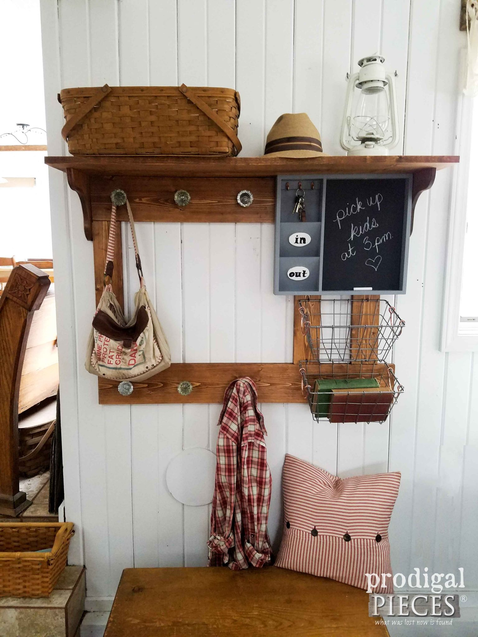 Rustic Farmhouse Storage | Prodigal Pieces | prodigalpieces.com