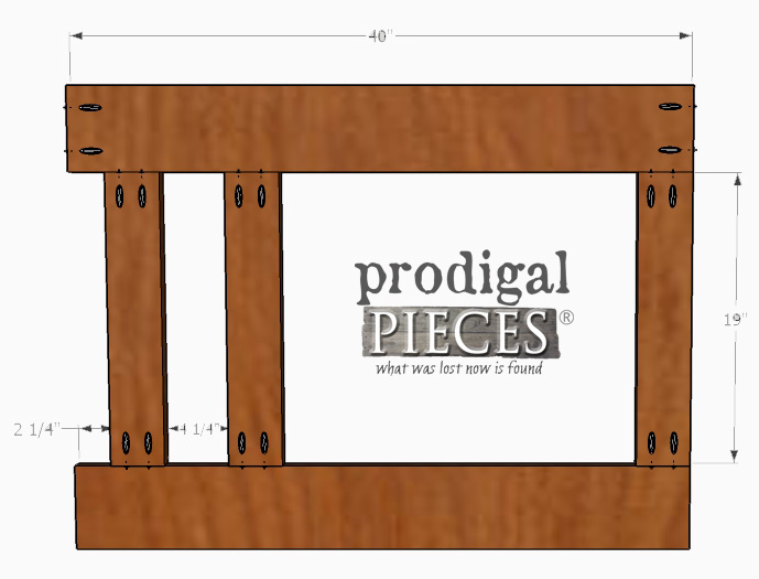 How to Assemble Entry Storage Unit | Prodigal Pieces | prodigalpieces.com