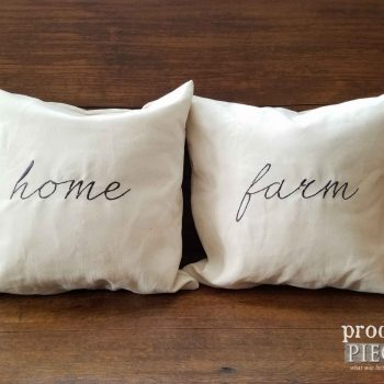 Handmade Embroidered Pillow by Prodigal Pieces | available at prodigalpieces.com