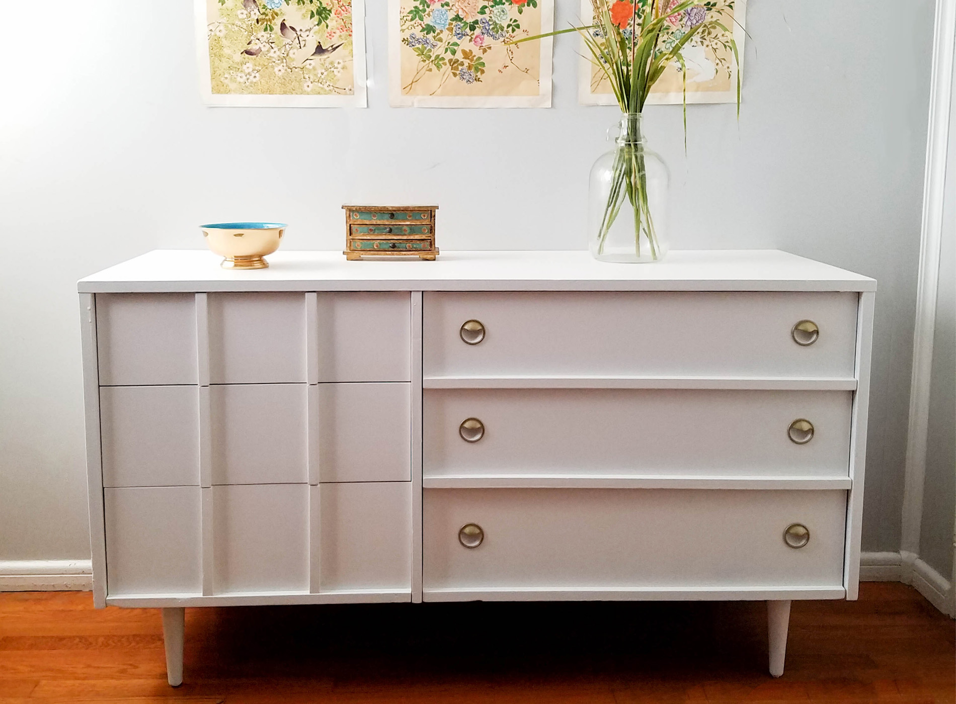 Featured Painted Furniture Dresser with Behr | Prodigal Pieces | prodigalpieces.com