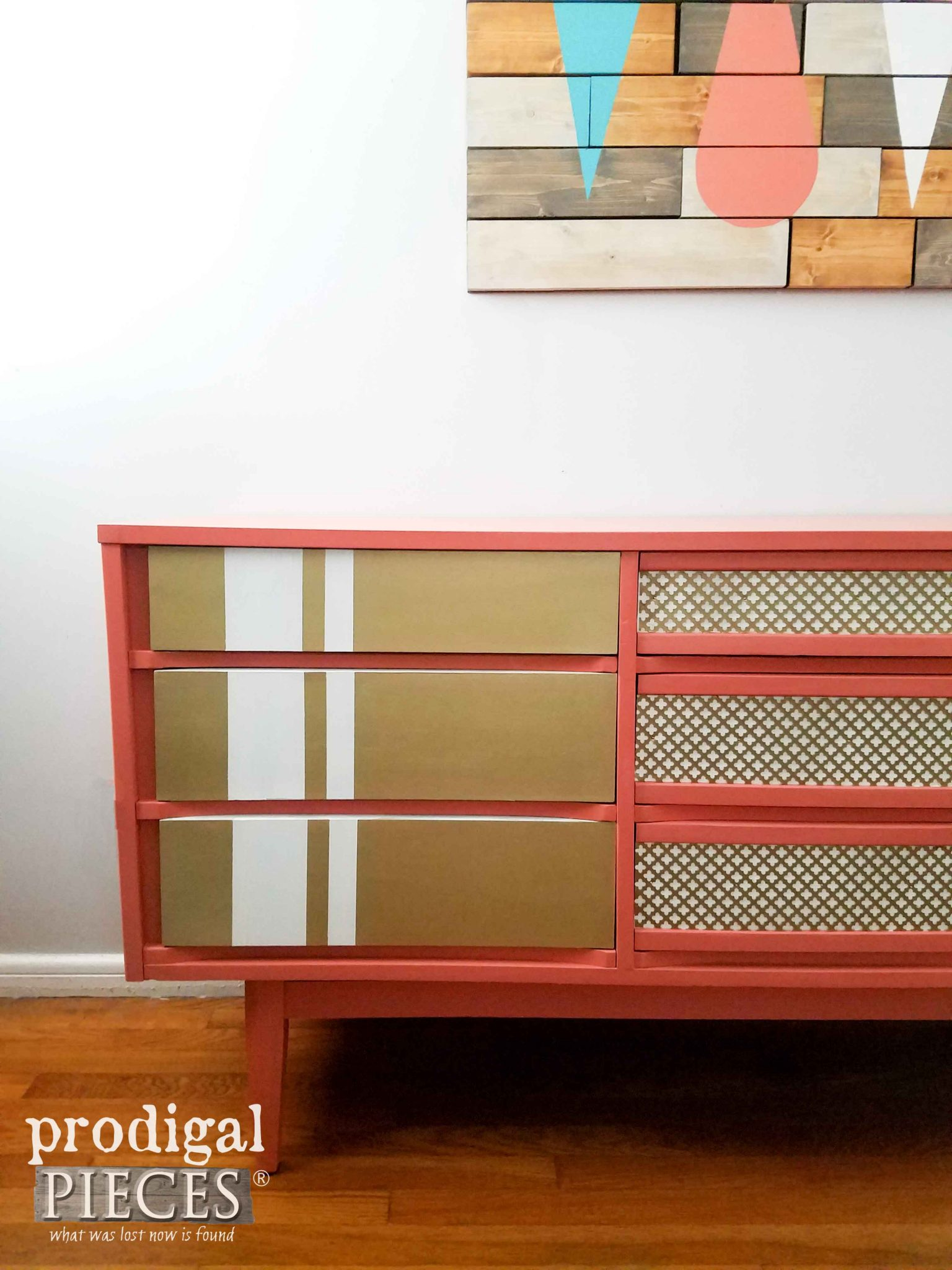 Modern Chic Dresser Makeover by Prodigal Pieces | prodigalpieces.com