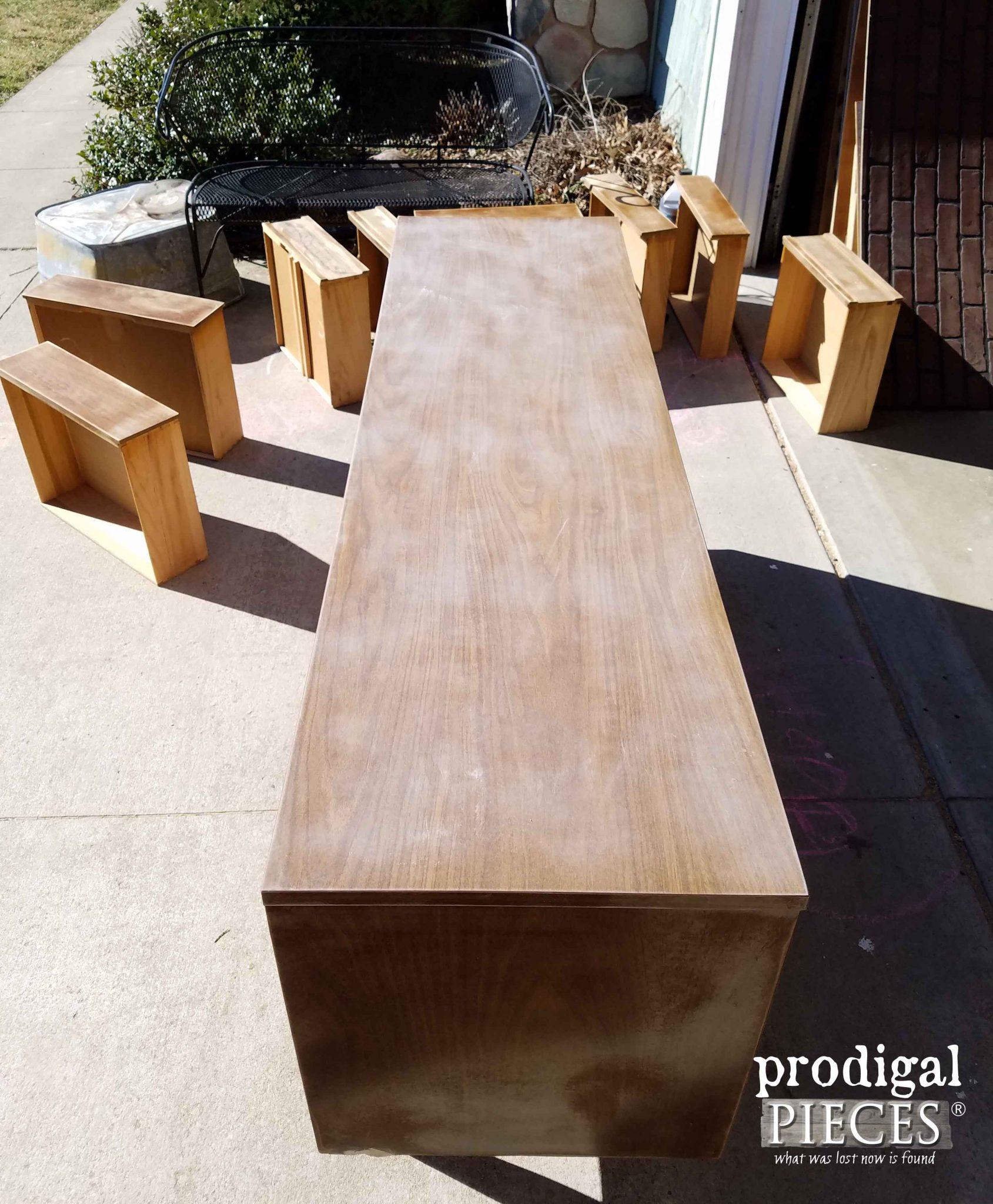 Sanded Dresser | Prodigal Pieces | prodigalpieces.com