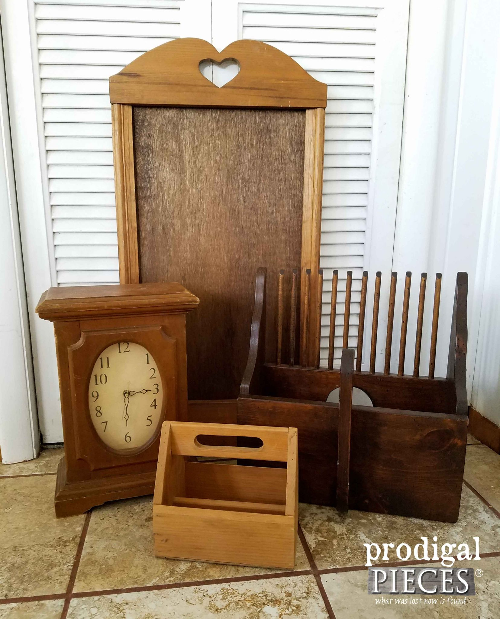 Assortments of Thrift Store Finds | Prodigal Pieces | prodigalpieces.com
