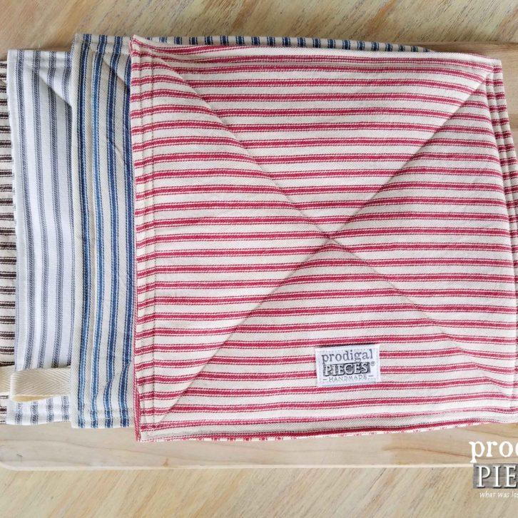 Rustic Trivet / Pot Holder Set available at Prodigal Pieces | prodiaglpieces.com