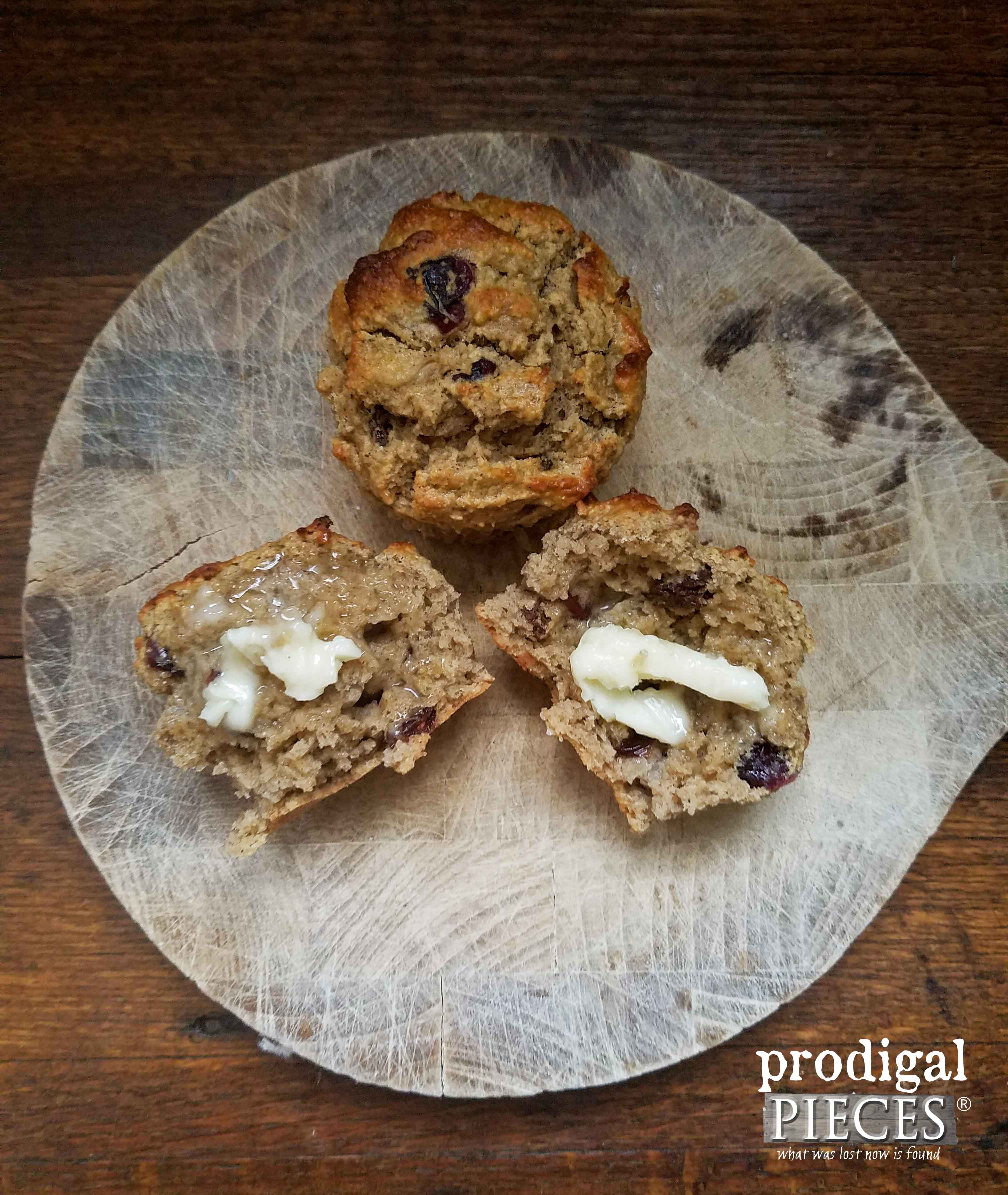Grain-Free Cranberry Muffins for a Nourishing Breakfast Treat by Prodigal Pieces | prodigalpieces.com