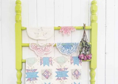 Featured DIY Quilt Rack by Prodigal Pieces | prodigalpieces.com