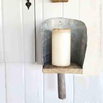 Farmhouse Grain Scoop Sconce Tutorial by Prodigal Pieces | prodigalpieces.com