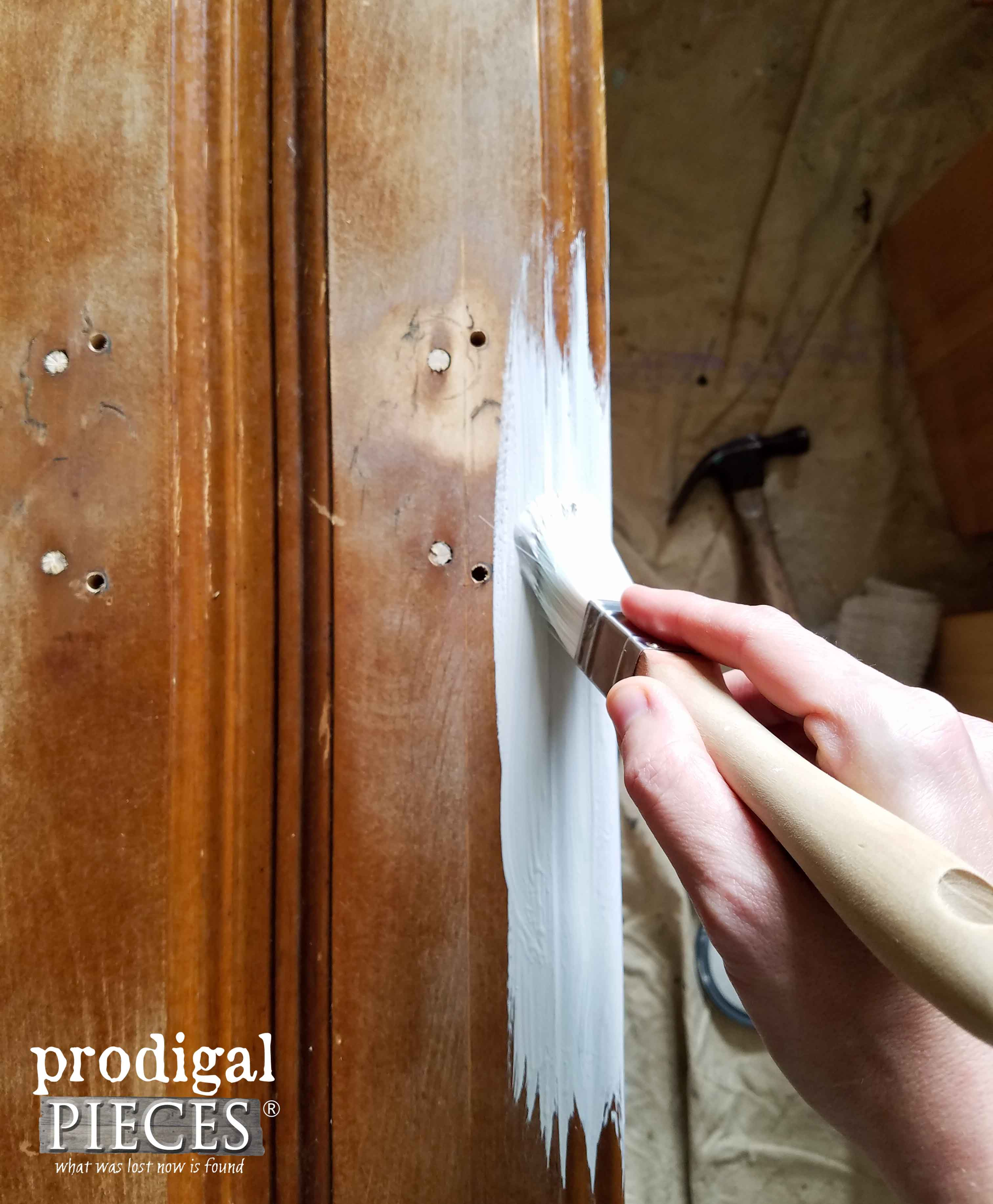 Painting Dresser Drawer Fronts | Prodigal Pieces | prodigalpieces.com